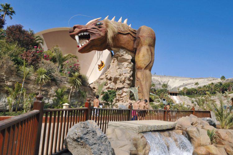 Rutsjebanen Dragon i Siam Parque