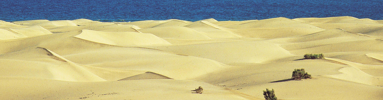 Sanddyner på Gran Canaria
