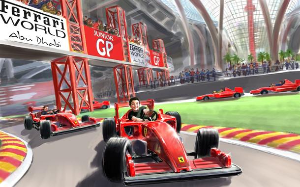 Ferrari World i Dubai