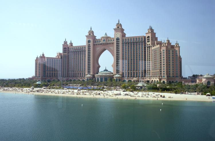Hotel Atlantis i Dubai
