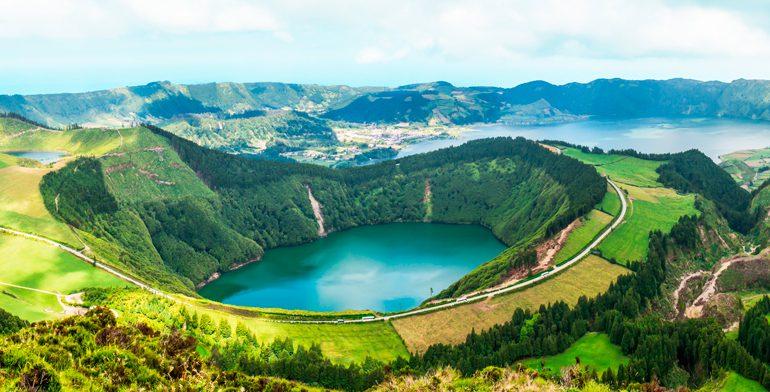 Sete Cidades Azorerne