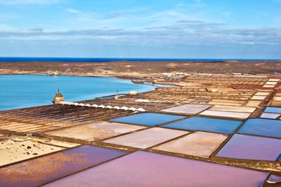 Saltfladerne Janubio