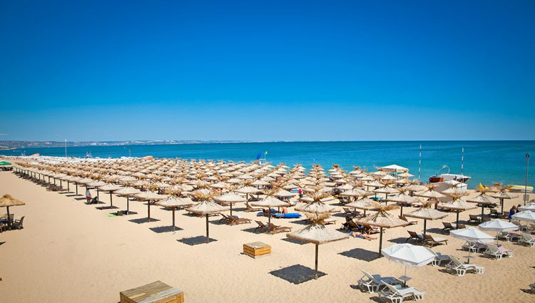 Golden Sands i Bulgarien