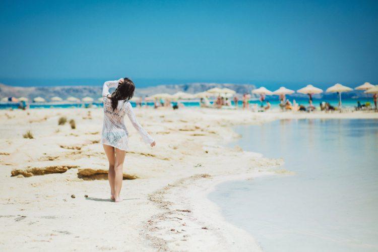 Elafonissi - Den lyserøde strand på Kreta