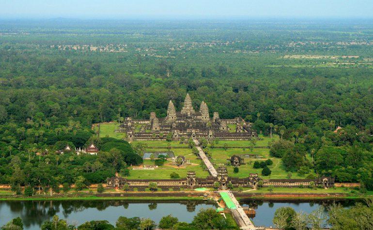 Udsigten over Angkor Wat