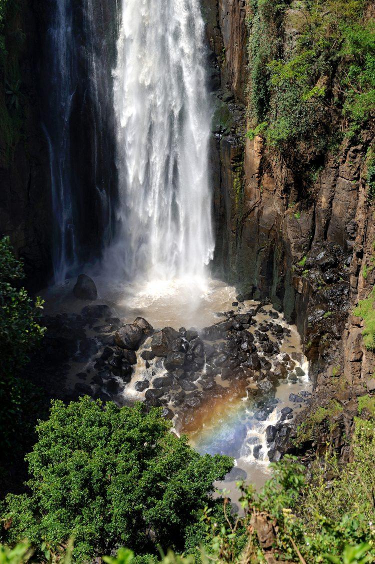 Thomason vandfaldet i Kenya