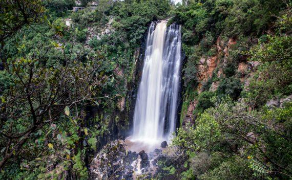 Thomson vandfaldet i Kenya